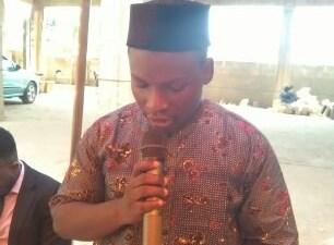 Job Togan, président de l'Association des jeunes intègres de Hounsa-Agbodokpa (Ajiha)
