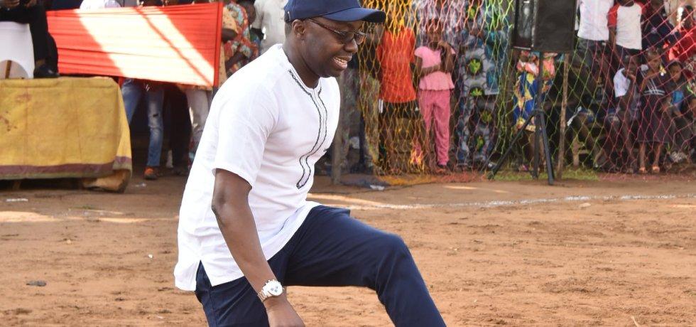 Présidentielle d'avril 2021 au Bénin: Aïvo prévient Talon dans un langage footballistique, « S'il prend la coupe et qu'il n'y a pas de match,… on… »