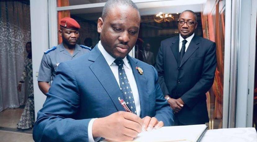 """L'ancien Premier ministre ivoirien en exil Guillaume Soro a été condamné, mercredià Abidjan, à la prison à perpétuité pour """"atteinte à la sûreté de l'État"""" pour des faits commis fin2019."""