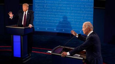 débat entre Trump et Biden