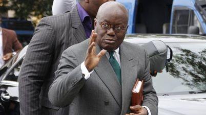 Le président sortant du Ghana, Nana Akuffo-Addo