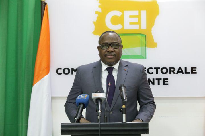 Coulibaly-Kuibiert Ibrahime, Président de la Commission Electorale Indépendante
