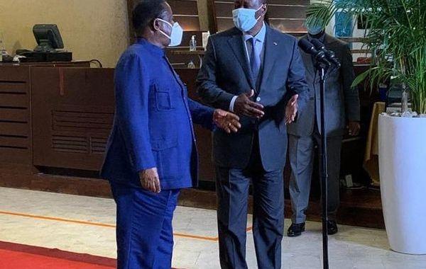 rencontre Ouattara-Bédié à Golf Hôtel