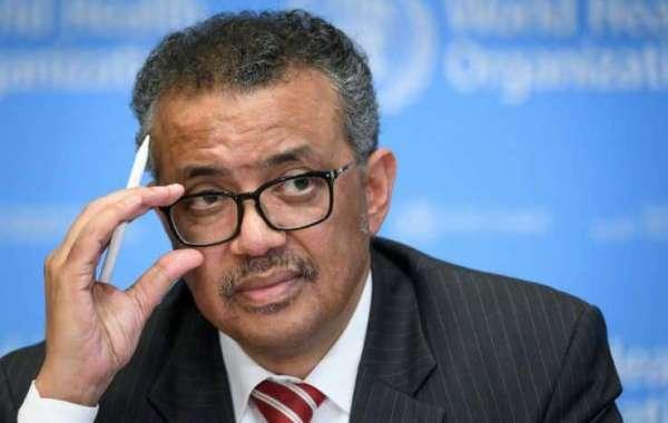 Le directeur général de l'Organisation mondiale de la santé Tedros Adhanom Ghebreyesus