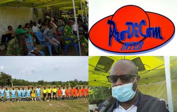 Tournoi de football à Grand-Popo initié par Prodicom Inter
