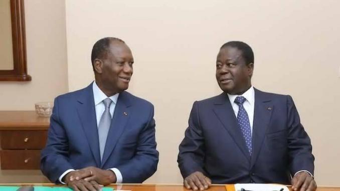 rencontre annoncée entre Bédié et Ouattara