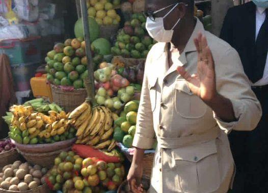 Talon au marché Dantokpa