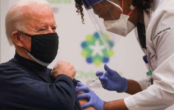 Coronavirus: Joe Biden s'est fait vacciner