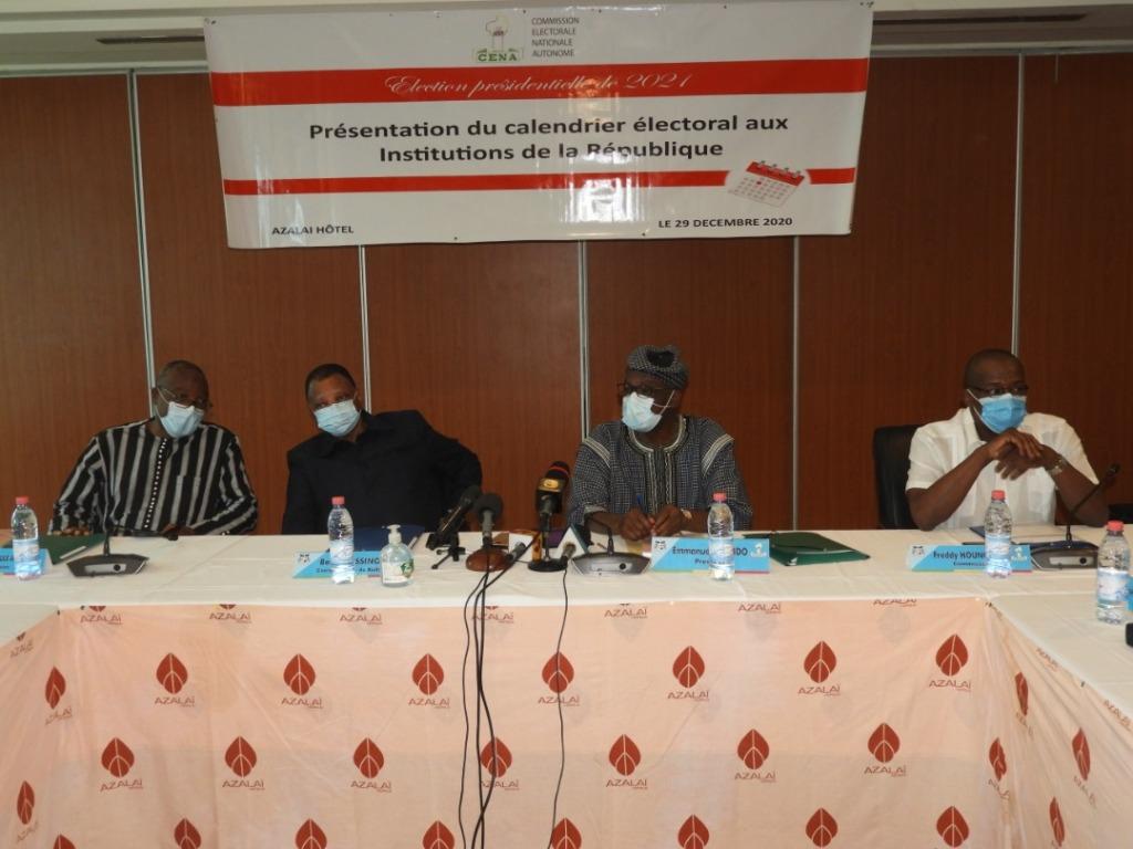 Présidentielles 2021 au Bénin: La Céna œuvre pour un calendrier électoral accepté par toutes les parties