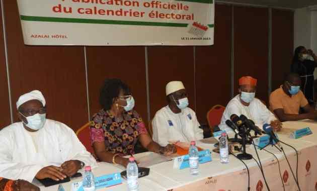 Présidentielles de 2021 au Bénin: Voici le calendrier électoral officiel adopté après consultations de toutes les parties