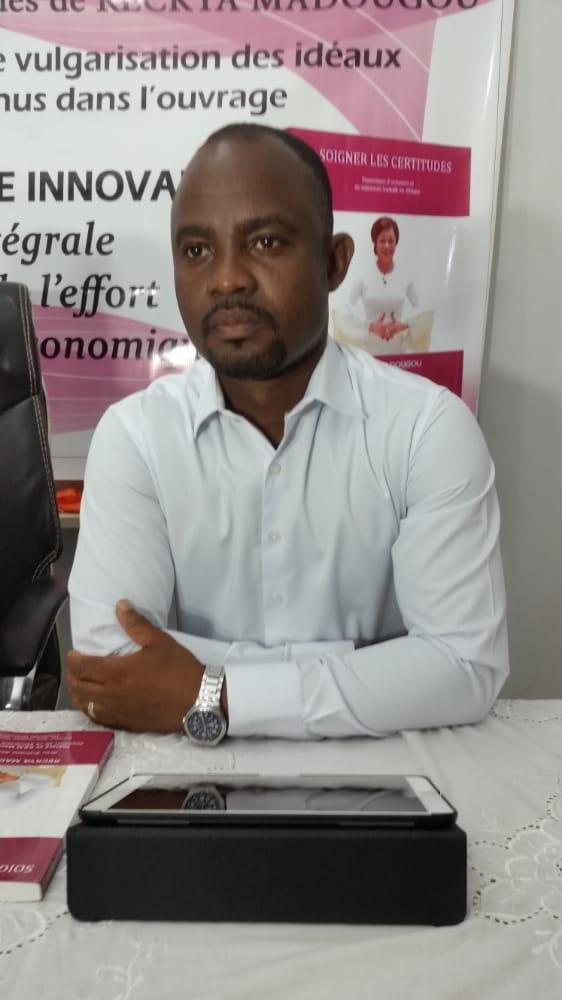 Tatian Dossou, Rapporteur de l'atelier et membre du creuset