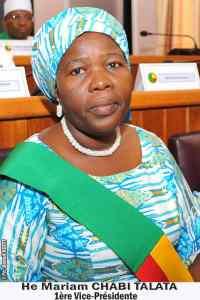 Mariam Chabi Talata: nomination de son chef de cabinet