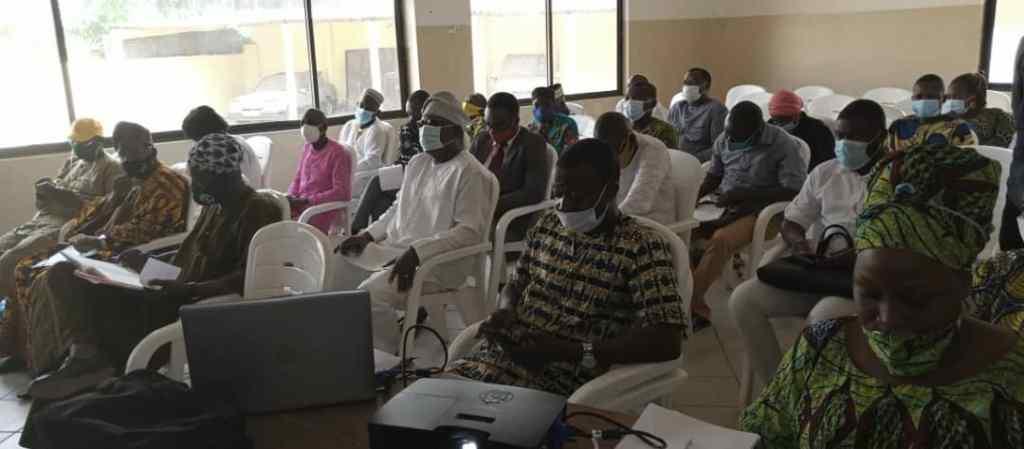 réunion préparatoire pour l'installation du Comité national pour l'organisation des Assises Nationales.