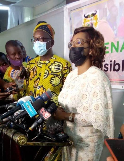 Des parrainages « confisqués par des chefs de parti », les raisons de la candidature du duo des Démocrates : Madougou dit tout après le dépôt de son dossier avec son colistier