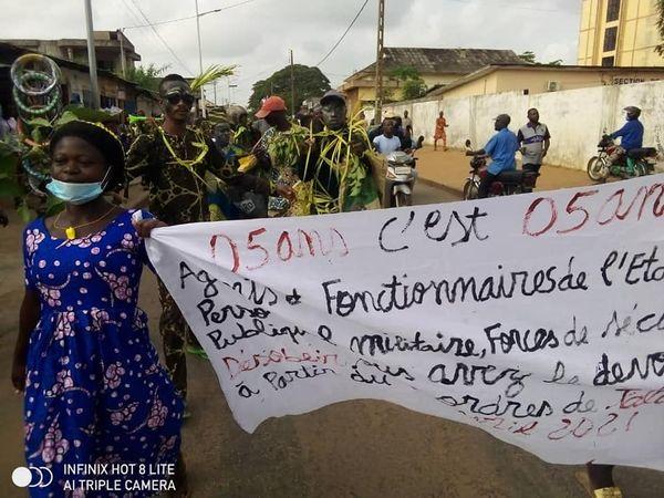 Manifestation du 6 avril à Cotonou :  Plusieurs personnes arrêtées et présentées au Procureur de la Criet, leur procès programmé