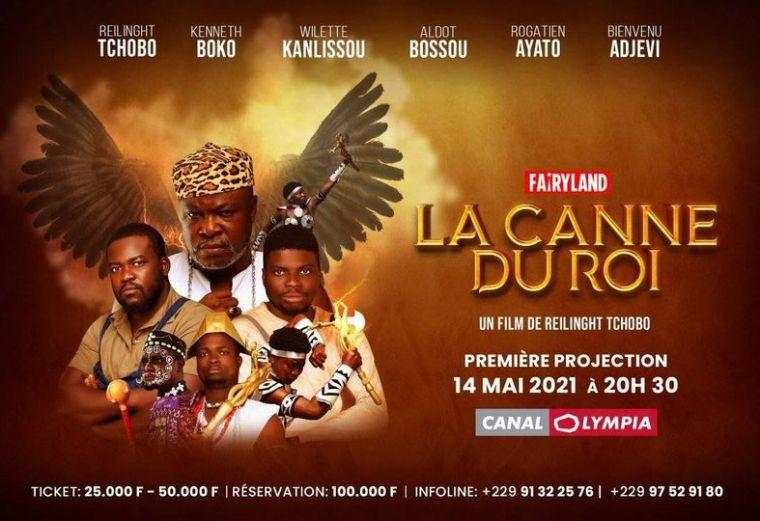 Projection du film ''La Canne du Roi''  le 14 mai à Canal Olympia