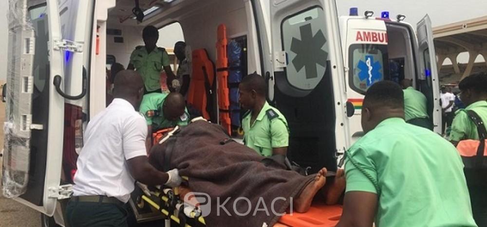 Ghana : accident de corbillard, le conducteur meurt et rejoint le cadavre qu'il transportait