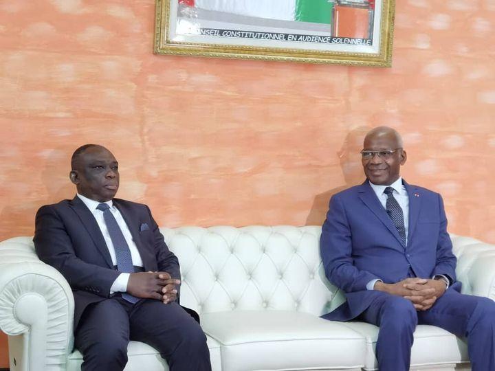 Côte d'Ivoire : Faux ! Le Président du Conseil Constitutionnel, Mamadou Koné n'est pas mort !