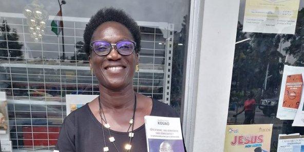 Pulchérie Gbalet, présidente d'Alternative citoyenne ivoirienne (ACI)