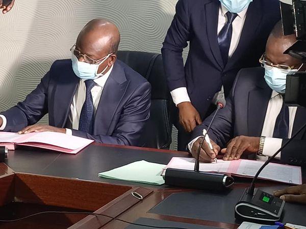 Ministère de la Décentralisation et de la Gouvernance Locale: Raphaël Akotègnon a déjà pris fonction
