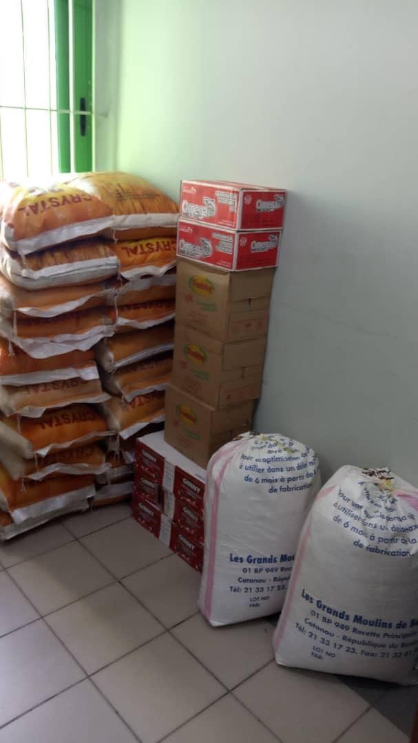Bénin/Politique: Dons de produits alimentaires des béninois de la Diaspora aux blessés, prisonniers et autres victimes des violences électorales