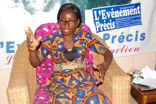 Marie Akpotrossou, nommée  préfet de l'Ouémé