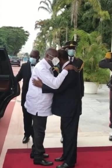 Côte d'Ivoire:  Ouattara et Gbagbo se sont rencontrés au palais présidentiel