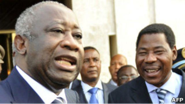 Abandon du Fpi pour créer un autre parti :  Le ''grand'' Laurent Gbagbo veut aller à l'école du ''sage''  Boni Yayi