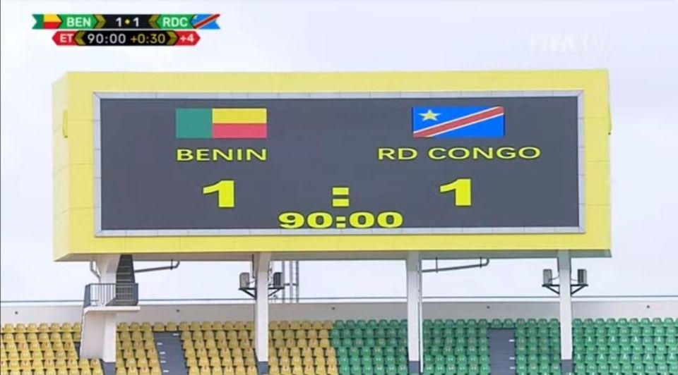 Eliminatoire mondial Qatar 2022 : Match nul entre le Bénin et la RDC